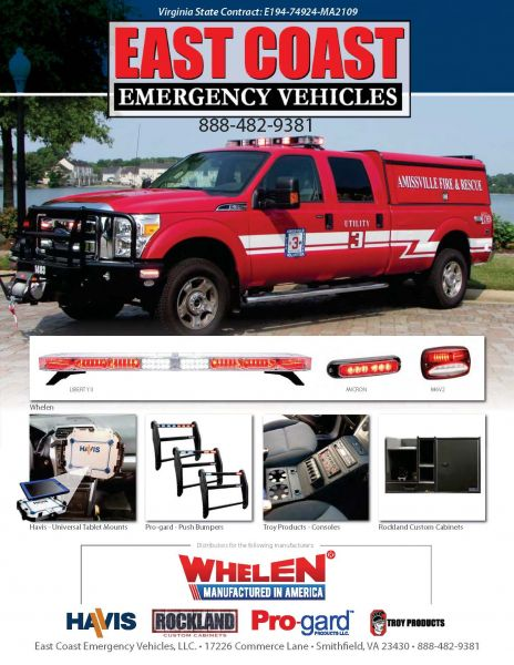 Welcome To East Coast Emergency Vehicles LLC. We Are A Full Service  Emergency Vehicle Equipment Supplier And Installer In Southeastern Virginia.
